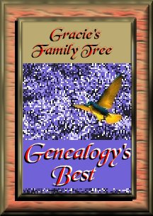 Gracie's Family Tree: Genealogy's Best Award